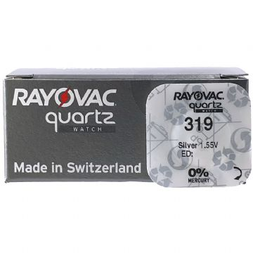 Rayovac 319 SR527SW 1.5V Silver Oxide Watch Battery